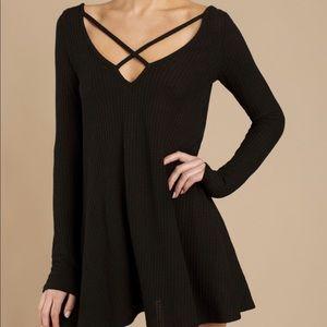 Tobi Dresses - Tobi Swing Dress (Black)